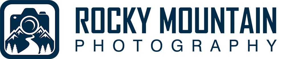 Logo for our business partner, Rocky Mountain Photography